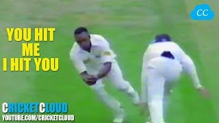 CRICKET FIGHT - BOWLER'S REVENGE - This is why Never Bowl a Bouncer to a Fast Bowler !!
