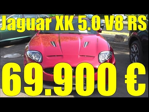 Almanya'da Ikinci El Araba Fiyatlari - Jaguar XK 5 V8 RS Coupe # 004