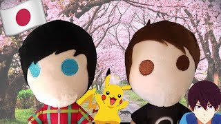 A Day in the Life of Dan and Phil Plushies in JAPAN!