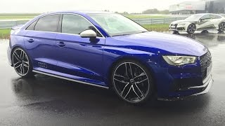 [REVIEW] The NEW 2018 Audi RS3 Sedan (400hp) - Sounds, revs, launch control, in detail