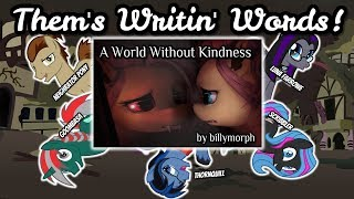 Them's Writin' Words! (MLP Fanfic Reviews)