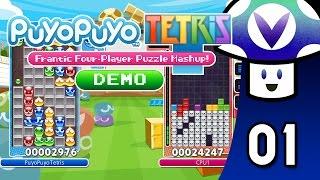 [Vinesauce] Vinny - Puyo Puyo Tetris: Demo (part 1)