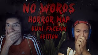 Minecraft No Words HORROR Adventure Map | Dual FACECAM | EP3 | That was fast
