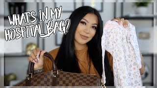 WHATS IN MY HOSPITAL BAG? || EVETTEXO