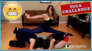 YOGA CHALLENGE with Bria and Chrissy