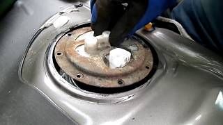 Toyota Camry Fuel Pump Removal Sending Unit Checking