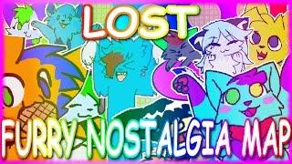 Lost | FURRY NOSTALGIA MAP [CONTAINS FLASHING]