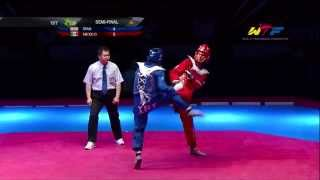 [S-Final Male] IRAN vs MEXICO | 2014 WTF WORLD CUP TAEKWONDO TEAM CHAMPIONSHIPS
