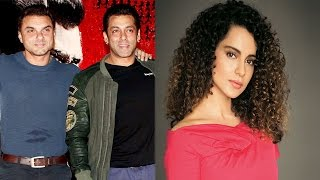 Salman Khan Advices Sohail |  Kangana Ranaut Replies To Karan Johar