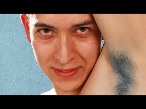Men Dye Their Armpit Hair For The First Time