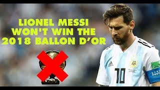 7 reasons why Lionel Messi won