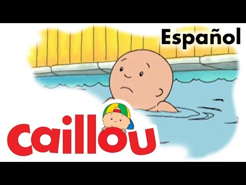 Caillou ESPAÑOL Caillou aprende a nadar S01E35