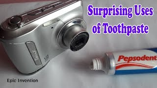 7 Surprising Uses of Toothpaste | Awesome Toothpaste Life Hacks | 7 Amazing Toothpaste LifeHack