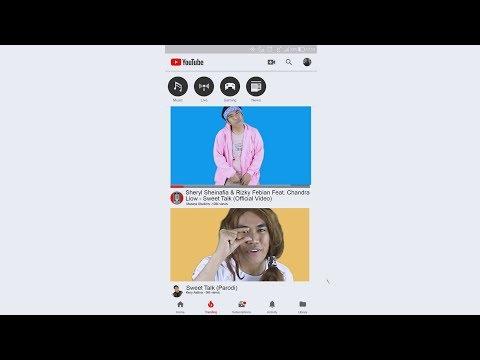 Parody Sweet Talk - Sheryl Sheinafia & Rizky Febian Feat. Chandra Liow
