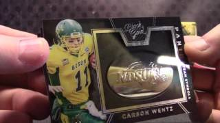 2016 Black GOLD College Football 8 Box Case Serial #s GB