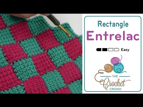 How to Tunisian Crochet Rectangle Afghan