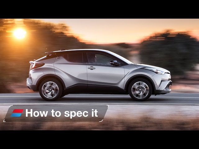 How to spec the 2016 Toyota CH-R SUV  - engines, colour and trim levels