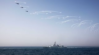 China-Russia naval exercise begins in Baltic Sea