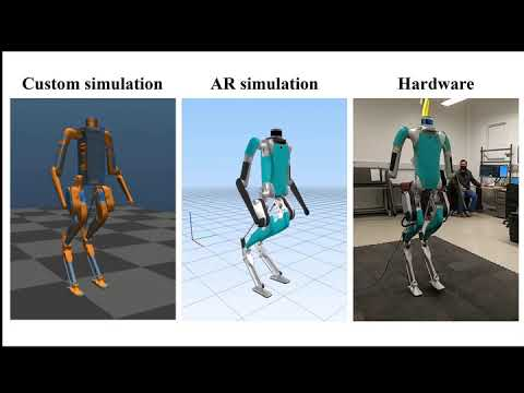 Robust Feedback Motion Policy Design Using Reinforcement Learning on a 3D Digit Bipedal Robot
