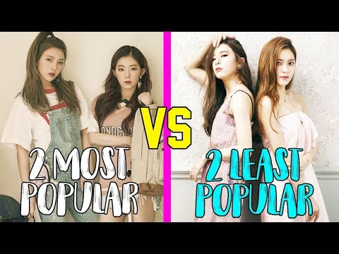 2 MOST POPULAR VS 2 LEAST POPULAR MEMBERS IN GIRL GROUPS [PART 1]
