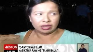 OFW NA MAY 5 ANAK, NABIKTIMA UMANO NG 'TANIM-BALA' SA NAIA
