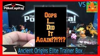 Pokemon Cards XY Ancient Origins Elite Trainer Box Opening Battle vs Hot Torchic