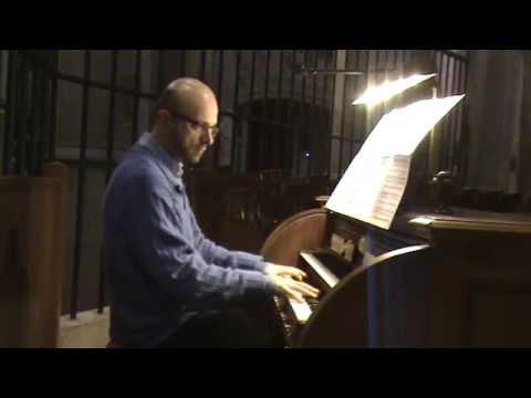 G F Händel Zadok The Priest Organ
