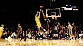 Kobe Bryant game winning buzzer beater vs Miami Heat - HD 12-04-2009