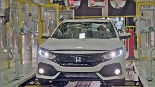 CAR FACTORY: 2017 Honda CIVIC Hatchback