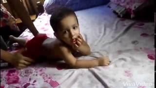 Little Bangladeshi  boy Xabir Six pack workout