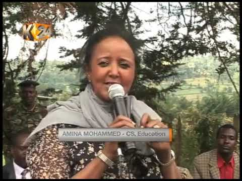 Xxx Mp4 SECURING EXAMS Education CS Amina Assures Safety In Violence Prone Areas 3gp Sex