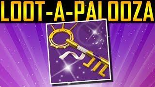 Destiny 2 - LOOT-A-PALOOZA KEY! DANCE PARTY KEY!