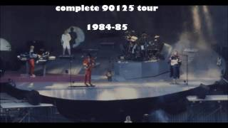 YES - COMPLETE 90125 TOUR 1984-85