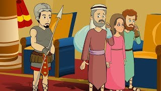 Abram And The Pharaoh | Animated Kids Bible Stories | Bible Short Stories For Kids