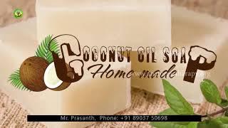 Important Note Easy Home Made Coconut Oil Soap -( தேங்காய் எண்ணெய் சோப்பு ) - Healer Baskar