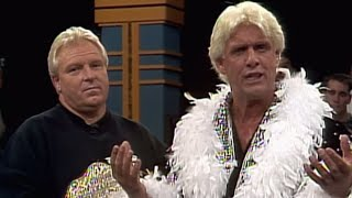 Ric Flair debuts in WWE: Prime Time Wrestling, Sept. 9, 1991
