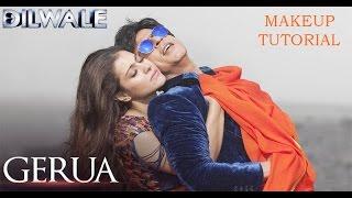 Gerua - Kajol | Dilwale | SRK Kajol Official New Song Video 2015 Inspired Makeup Tutorial