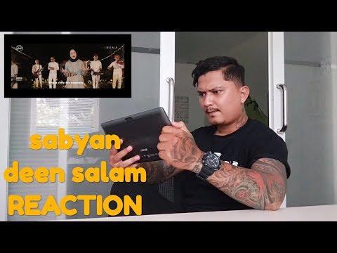 Reaksi orang bertato denger deen salam - cover SABYAN ( BANGTATO REACTION VIDEO )