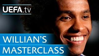 Willian: My free-kick secrets