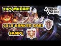 Download Video Cara Solo Ranked Paling Efisien! Fast Win Fast Game! - Arena of Valor 3GP MP4 FLV