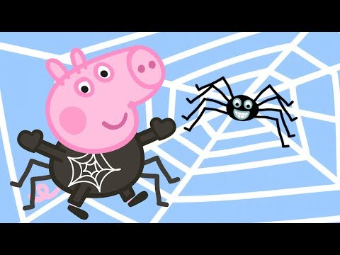 Peppa Pig Official Channel 🕷 Spider Where is Mr Skinny Legs 🕷 Halloween Special 🎃
