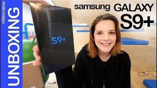Samsung Galaxy S9+ -unboxing primer contacto q t dejarán HELADO- ❄ ⛄