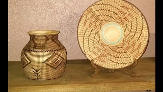 How to brake two fingers, (woven vase)