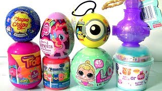 Funtoys Surprise Dolls LOL Lil Sisters Series 2, NUM NOMS 4.1, TROLLS, Shimmer and Shine Genie