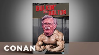Where Did These John Bolton Graphics Go Wrong? - CONAN on TBS