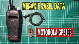 Merakit Kabel Data HT Motorola GP3188