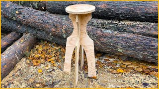 How to Make a Knock-Down Stool with the CNC