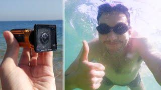 Une Caméra 4K qui filme sous l'eau !
