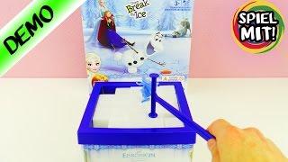 DON'T BREAK THE ICE! Frozen Die Eiskönigin Spiel - FALLEN ANNA & OLAF IN DEN SEE? Spiel mit mir