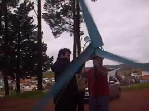 Generador Eólico Casero Ametek 50VDC